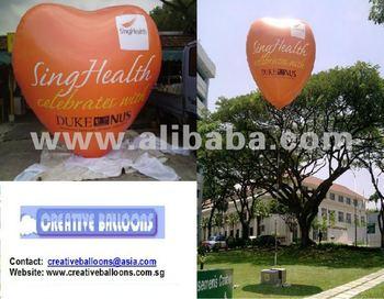 Giant Heart Shaped Balloon