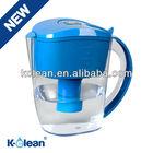 BPA -free alkaline water jug with filter