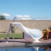 Style fashion curved slide playground slides