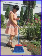 Plastic fiber road sweeping long brooms soft flagged