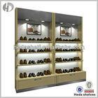 wall mounted retail shoe display shelves