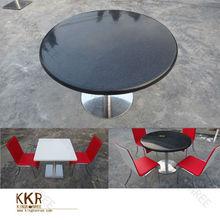 OEM& ODM acrylic stone restaurant dining table / bulk cheap solid surface table