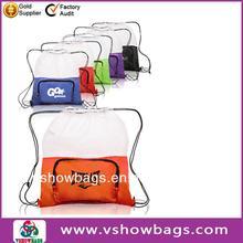 Popular handmade drawstring laundry bag