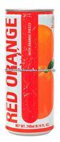 Dellos brand 240ml RED ORANGE JUICE WITH ORANGE PIECES