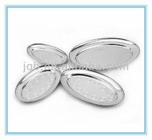 matel oval plate / fish shape plate/egg shape plate
