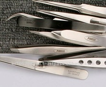 PINKISS The Best Quality eyebrow & eyelash extension Tweezers