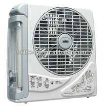 """SUNCA AC/DC Rechargeable Fan light 8"""" SF-283A"""