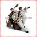 atacado decorativos violoncelo player personalizado instrumento musical