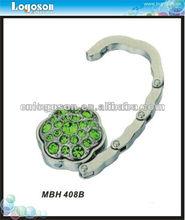 popular metal bag hanger / foldable metal bag holder