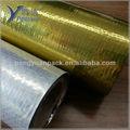 Tecido refletivo sarking membrana/golden folha de tecido