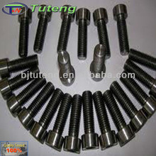 Titanium bolts and nuts for fastening