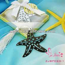 Book Lovers Collection starfish bookmark Favors
