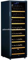 Direct Cooling System Wine Cabinet 168 Bottle USZ-168 Class B Wine Cooler