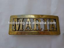 custom name belt buckles