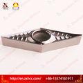 estándar de aluminio de corte herramientas vcgt insertos de carburo de zhuzhou