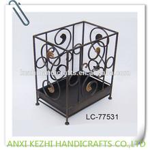 decorative metal rectangle umbrella holder