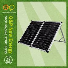GP 2 folding solar panel 120W black aluminium aloy frame