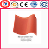 2013 flat red clay roof tiles best price