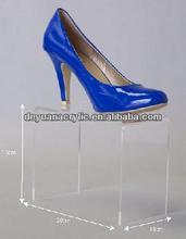 Custom Design Acrylic Shoes Display for Shoe Shop