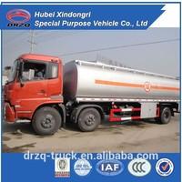 FAW fuel tanker truck capacity 30000l,oil transportation tank truck, fuel truck dimensions