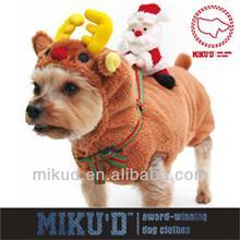 Winter Dog Christmas Costume OEM to USA, Brazil, UK, Gernany