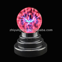 Mini high quality party decoration 3.5 inch touch plasma ball