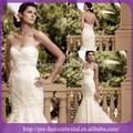 novo design do vestido de casamento do laço ruched appliqueds frisado vestidos de noiva feitos na china até o chão