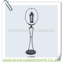 decorative metal floor lantern stand