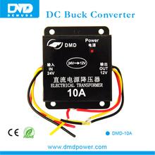 High performance dc 24v to dc 12v 10A converter for car