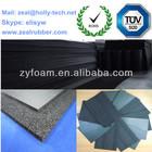 NBR/PVC foam sheet for heat insulation