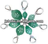 Fall arresters retractable for security system