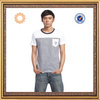 printing stripe round neck body fit t-shirts for men