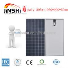 cheap price 295w poly solar cell panel module