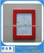 Solid wood picture frame