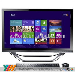 23.6inch Intel Core i5 pc 1TB china cheap all in one pc