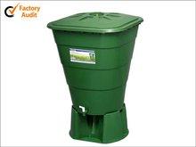 HDPE 250 liter garden plastic water bucket