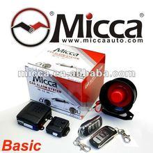 Sistema de Alarma para Autos con 18 Funciones Programables, Proveedor de Seguridad Alarmas en China(OW100)