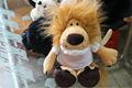 Super mini soft recheadas brinquedo leão mini-pelúcia animais