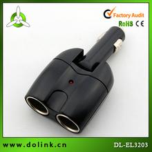 ac dc car cigarette lighter socket adapter