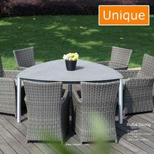2015 Best sale Rufus alum rattan outdoor garden furniture