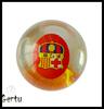 Led glitter water bouncing ball