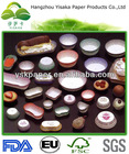 FDA certificated printed available silicone coated baking liner cupcake