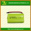 Shenzhen Factory price 3.6v 2000mAh AA NIMH battery pack with CE certification