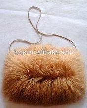 Wholesale Tibetan Mongolian Lamb Fur Winter Hand Muff