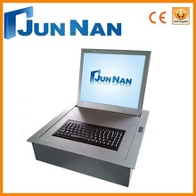 Fashional design lcd monitor flip up lift for conference room