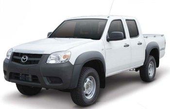 Mazda BT-50 4x4 2.5L (TD) Diesel Double Cab 2012