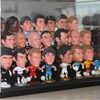 3d bobble figure, OEM bobble head toy, customized bobble head