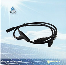 new design solar PV Molding 2 to 1 DC MC4 Cable Assembly