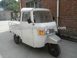 Cargo Bajaj triciclo con motor de 200cc, Tuktuk Tricycle