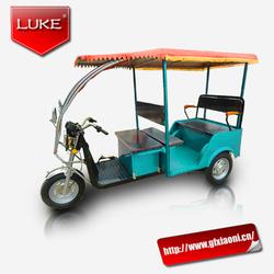 2015 high quality 800W POWER rickshaw for passenger 18 or 24 tube controllertuk